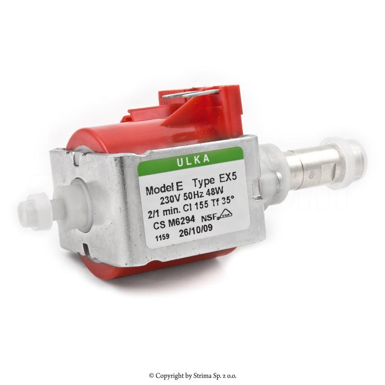 Pompa pentru generator de abur 230V, 50 Hz, putere 48W, diametru interior supapa de evacuare 1/8