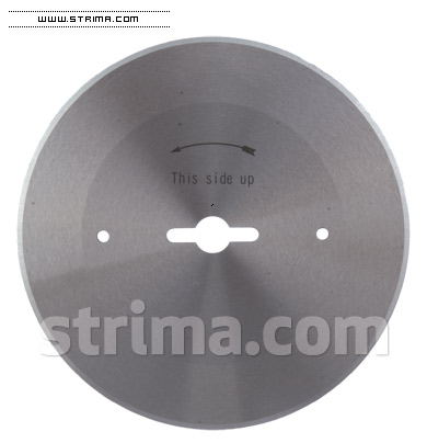 Disc rotund pentru masina de spanuit
