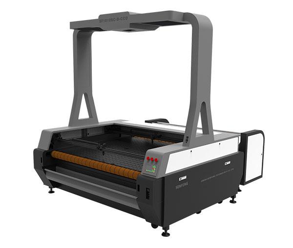masina de taiat cu tub laser si camera CCD